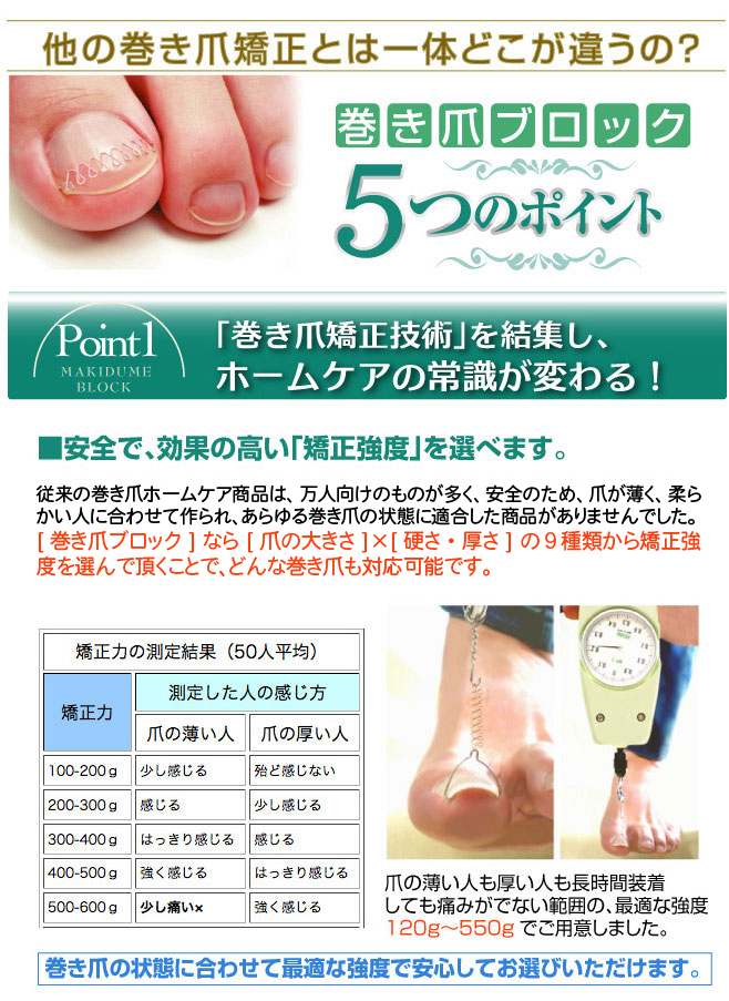 爪のトラブル|巻き爪ブロック口コミ